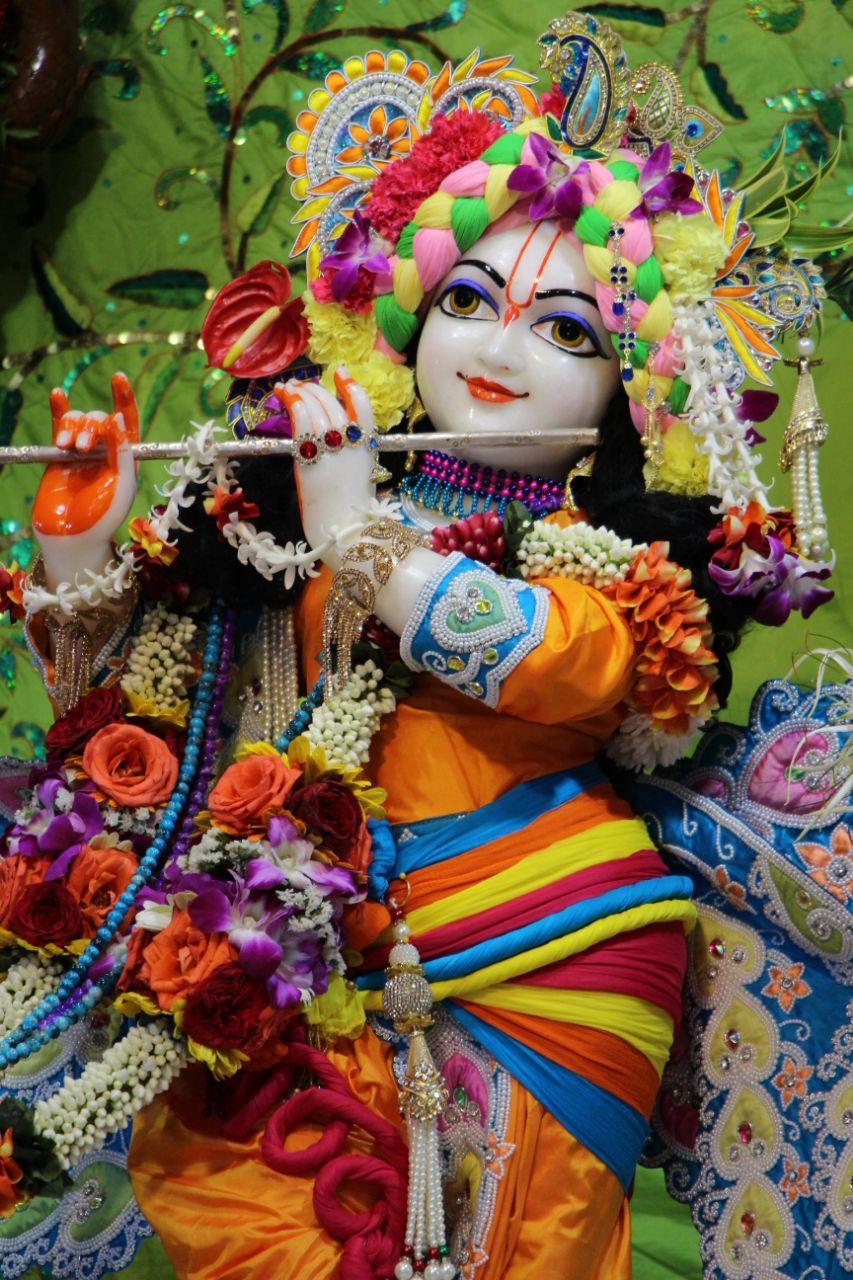 sri sri radha gopal temple iskcon aravade his holiness lokanath